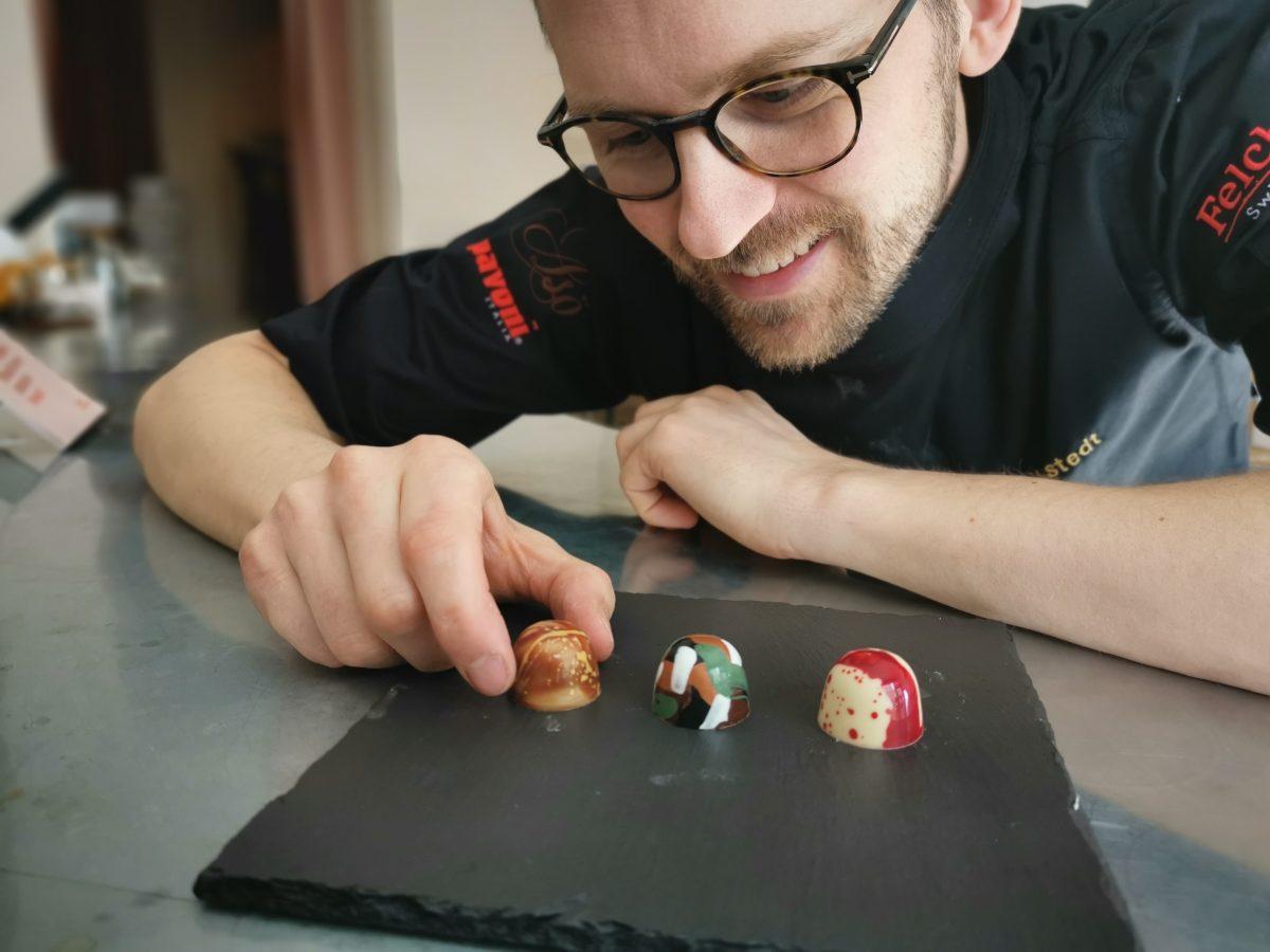Chef Jungstedt placerar praliner