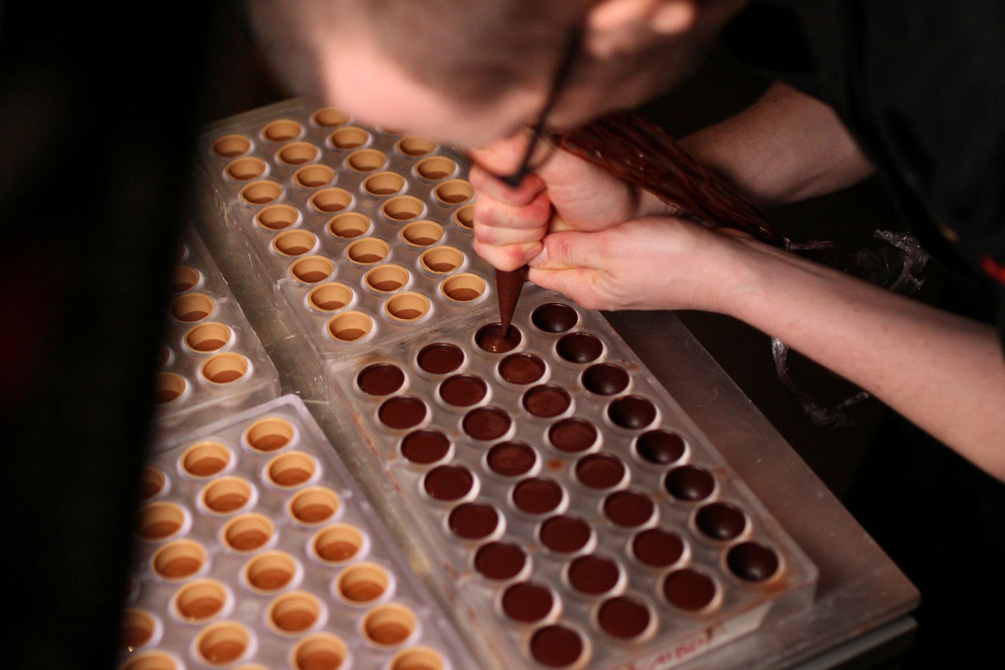 Chef Jungstedt bonbon course