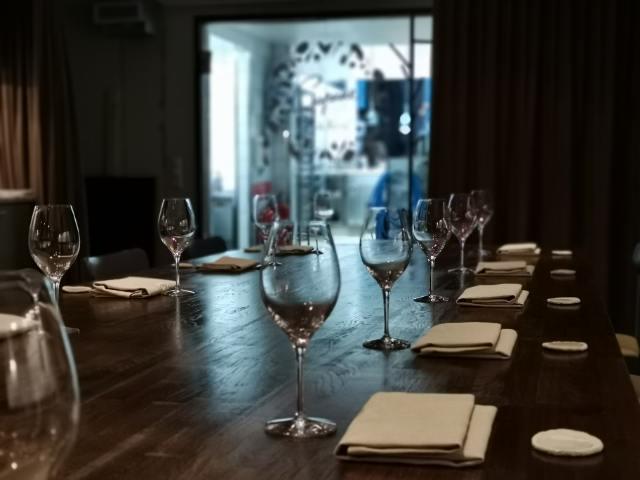Studio Restaurang Copine Pralin Provsmakning